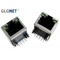 Wholesale Ethernet Router RJ45 Connector With Magnetics 10 / 100 Through Hole Mounting Type from china suppliers