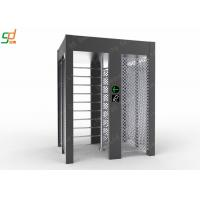 Wholesale Single Lane Full Height Turnstile , Controlled Access Airport Turnstile Security Solutions from china suppliers