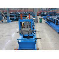 China Low Noise CZ Purlin Roll Forming Machine  1mm- 3mm  Thickness High Eficiency on sale