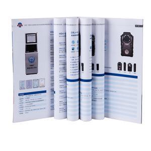China Spot UV Brochure Booklet Printing C2S Coated Paper Modern Design Promotional on sale