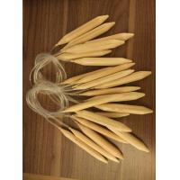 Wholesale 20mm, 25mm wood circular knitting needles, exporting needles for yarn from china suppliers