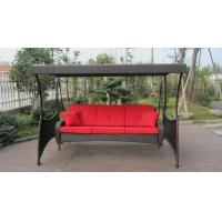 Wholesale Indoor Home Brown Rattan Swing Chair , All Weather Hanging Chair from china suppliers