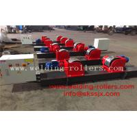 Wholesale Motor Adjustment Conventional Pipe Welding Rollers 40 Ton Load Capacity from china suppliers
