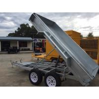 Buy cheap Electric Pump Galvanised Hydraulic Tipper 8 X 5 Tandem Trailer 2000kg from wholesalers