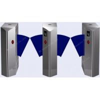 Quality Double Wing Intelligent Flap Barrier Gate Metro Pedestrian Gym Turnstile for sale