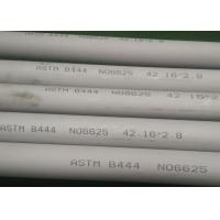 China 42.16 * 2.8mm Brushed Nickel Tubing , Anti Aqueous Corrosion Inconel 625 Seamless Tube on sale