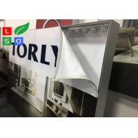 Edge - Lit Fabric Light Box 2835 SMD LED Source Double Side For Retail Shop