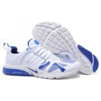 China cheap wholesale Mens Nike Air Presto 2012 Whtie Blue Running Shoes on sale