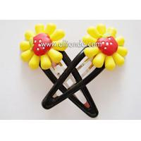 China Fashion hair accessories customized metal flower hairpin for birthday wedding promotional gifts on sale