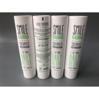 China Toothpaste Empty Cosmetic Tubes Foil Sealed Matt Coating Screw Cap for sale