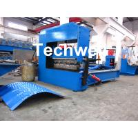 Wholesale Auto Crimping Cold Roll Forming Machine , Arch Metal Roofing Forming Machine from china suppliers