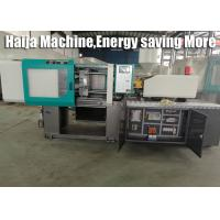 Double Toggle Clamp Injection Molding Machine , 565KN Injection Molding Plastic Machine for sale