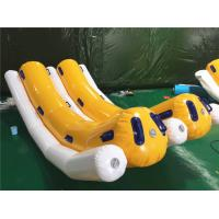 Wholesale Commercial 4 Persons Inflatable Water Toys / Inflatable Banana Boat Towable Tube For Skiing On Water from china suppliers
