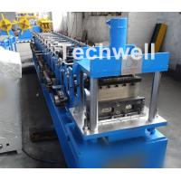 Buy cheap Light Steel Stud Roll Forming Machine , 5.5 Kw Industrial Metal Roll Forming Machine from wholesalers