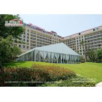 Wholesale White PVC Roof Cover Outdoor Luxury Wedding Tents / Garden Party Marquee from china suppliers
