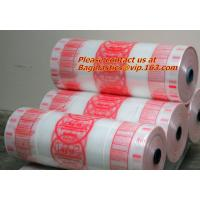 Custom printed poly films, poly sheeting, customize, layflat,low density polyethylene Poly Tubing on Rolls for sale