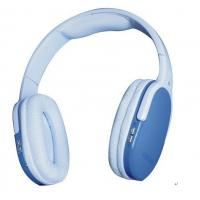 Quality Customized Blue TF Card Wireless Headphone with High Capacity Lithium Battery for sale