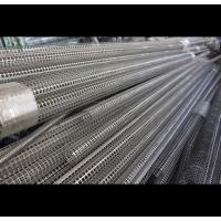 Wholesale Welded Seam Spiral Perforated Tube For Filtration 6000mm Length Round Hole from china suppliers