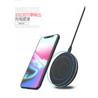 Quality 7.5W / 10W Wireless Cell Phone Charger Samsung / Iphone Charging Pad CE / RoHS for sale
