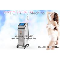 China OPT SHR IPL Hair Removal Machine , Vertical Elight IPL Hair Removal Equipment on sale