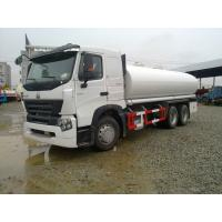 China High Power Fuel Tank Semi Trailer WD615.69 Engine 336hp 9.726L 251 - 350hp for sale