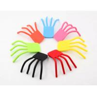Flexible Finger Shape Silicone Phone Holder Silicone Mobile phone Holder stand for sale