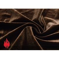Wholesale gold velvet for theater curtains, flame retardant, high tenacity from china suppliers