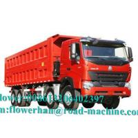 Wholesale Large Power Heavy Duty Dump Truck Tipper Trailer One Sleeper 51 - 60t from china suppliers