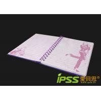 Wholesale Cardboard Notebooks , Pink / Red Metal Spiral & Hard Paper from china suppliers