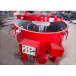 China Red Refractory Mixer Machine Mt250 5 Scraper Fast Discharging Speed Quick Mixing for sale