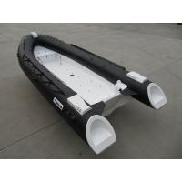 Wholesale 480Cm Long Frp Rigid Inflatable Rib Boat , 8 Person Inflatable Boat With Locker Console from china suppliers