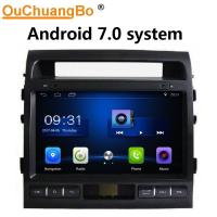 Wholesale Ouchuangbo car radio digital screen 4 Core CPU for Toyota Land Cruiser 2010-2012 with USB SWC 1080P Video BT android 7.0 from china suppliers