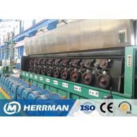 Quality Al Alloy Wire / Copper Rod Drawing MachineWith Dual Bobbin Take Up High Potency for sale