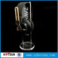 Wholesale 2016 Hot sale acrylic headphone/earphone/ headset display stand/rack from china suppliers