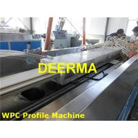 China Profile Production Line Plastic Sheet Making Machine For WPC Decking on sale