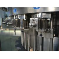 Wholesale Three in One Liquid Filling Machine , Carbonated Drink Filling Plant for Gas beverage 110V from china suppliers
