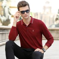 China 2019 Men's New Latest Design High Quality Long Sleeve Polo Shirt with Embordiery for sale