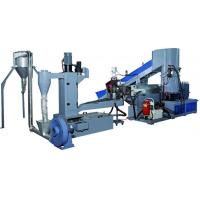 Wholesale Industrial Small Scale Plastic Recycling Machine / Plastic Recycling Plant Machinery from china suppliers