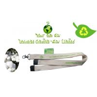 Wholesale Personalized Name Lanyards , Key Chain Lanyard With Organic Cotton Material from china suppliers