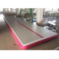 Wholesale 3M Air Track Gymnastics Mat / School Or Gym Tumble Track 0.55mm PVC from china suppliers