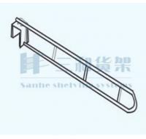 China OEM Pegboard Store and Shop Metal Display Rack Hooks Rail on sale