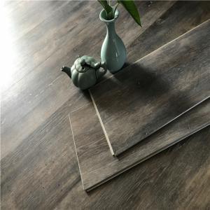 Buy cheap Luxury LVT Wood Like Click Lock Vinyl Plank Flooring plastic carpet floor price per meter from wholesalers