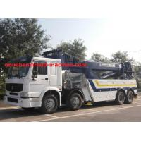 Wholesale 360 Degree Rotation Crane 30 Ton Lifting 12 Wheel Heavy Duty Wrecker Tow Truck For Broken Car Tow from china suppliers
