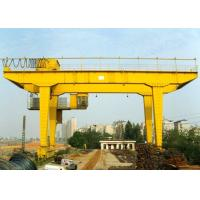 Rail Mounted Double Girder Gantry Crane Truss Type 40 - 500T Lifting Capacity for sale