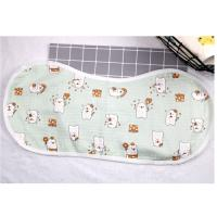 Wholesale Adjustable Infant Bandana Burp Cloths , Muslin Baby Clothes Bibs Four Layers from china suppliers