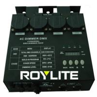 Quality Theatrical 4 Channel DMX Dimmer Packs 3Pin 6.3A / ch For Lighting Control for sale