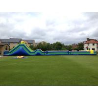 Wholesale Biggest 135ft x 20ft Assualt Inflatable Obstacle Course For Big Event Or Rental Business from china suppliers
