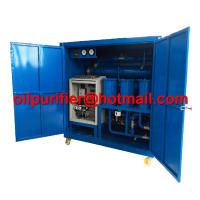 China Double stage high vacuum used mineral oil treatment ,super voltage transformer oil purifier, vacuum pumping set ultimate on sale