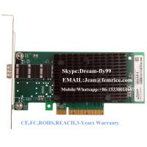 China 10G Fiber network card using in every brand servers,intel82599ES Chipset,fiber optical 10 gigabit single sfp port card on sale