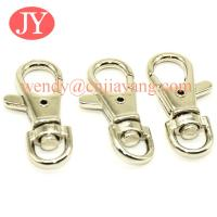 China jiayang 36mm  shiny silver trigger snap hook for key rings key chains on sale